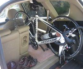 Interior bike rack for Rav4