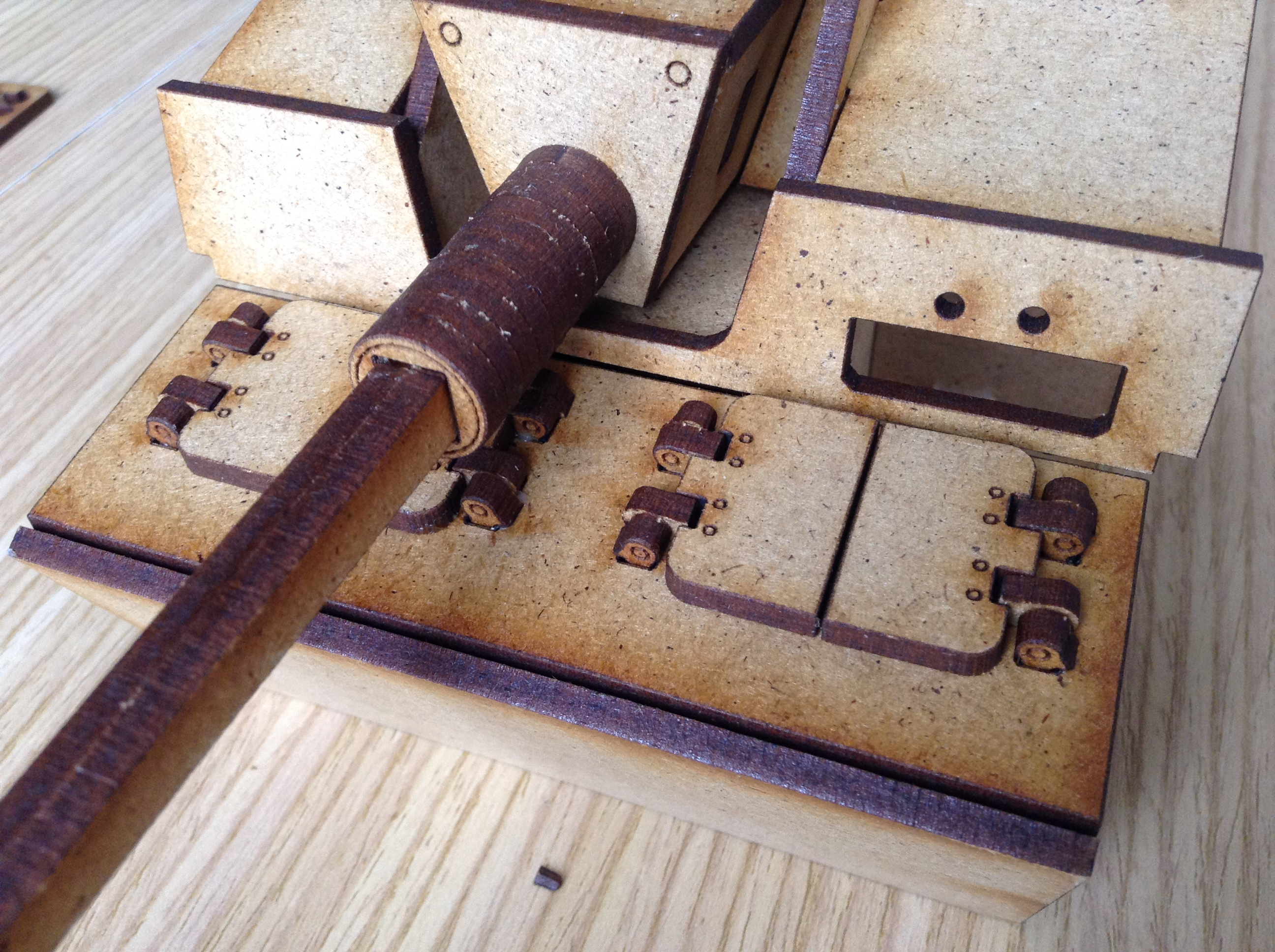 Picture of The Hinges & the Trapdoors