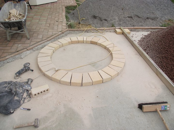Picture of Cut and Trial Fit Top Bricks