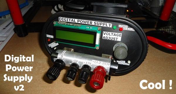 DIY Variable Bench Power Supply