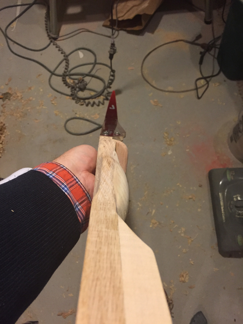 Picture of Attaching the Limbs to the Riser