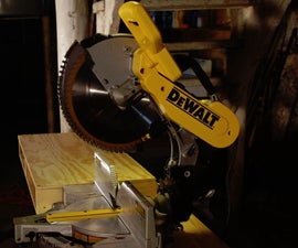 Make an Easy Miter Saw Table