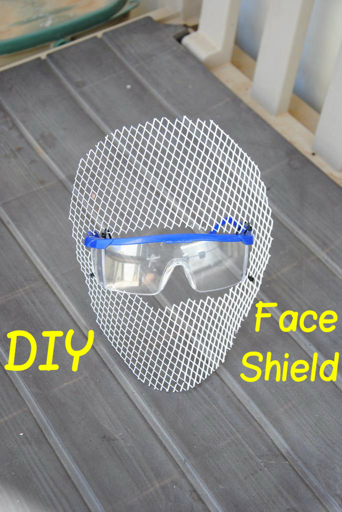 Picture of DIY Face Shield (w/ Built in Safety Glasses)