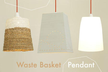 No.1: Waste Basket Pendant