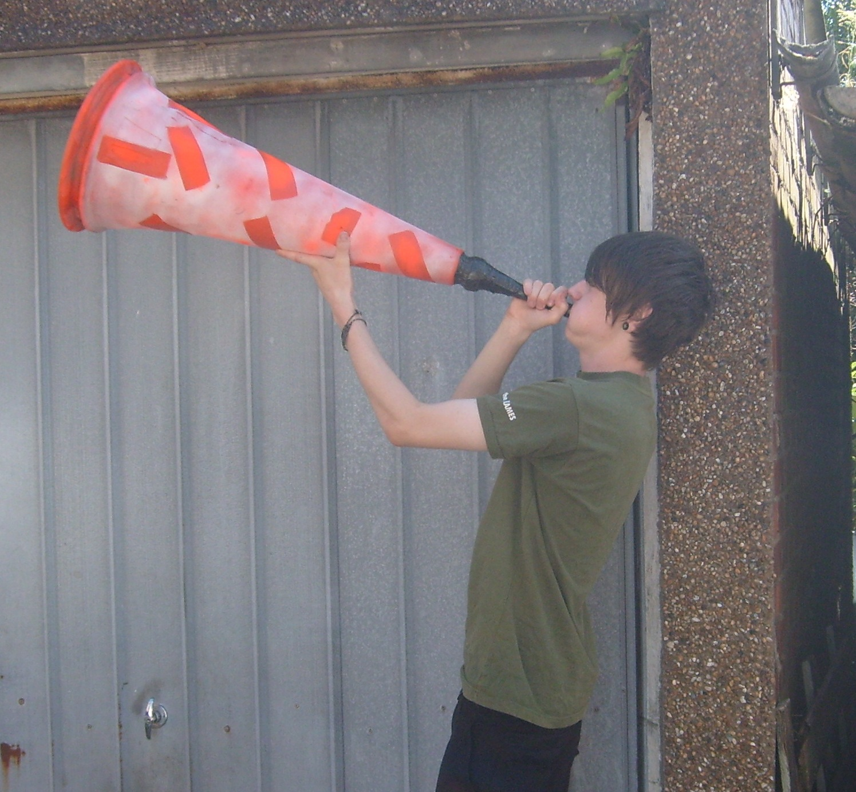 Picture of Make a Giant Vuvuzela