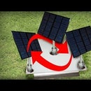Light Detector Solar Panel With Arduino