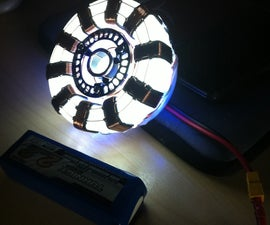 How To Build A Stark Industries Iron-Man Arc Reactor.... Very very low cost..
