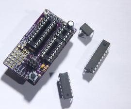 Chipper Board - ATtiny Programming Shield