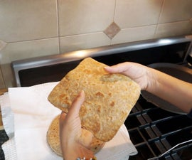 How To Make Square Roti Paratha