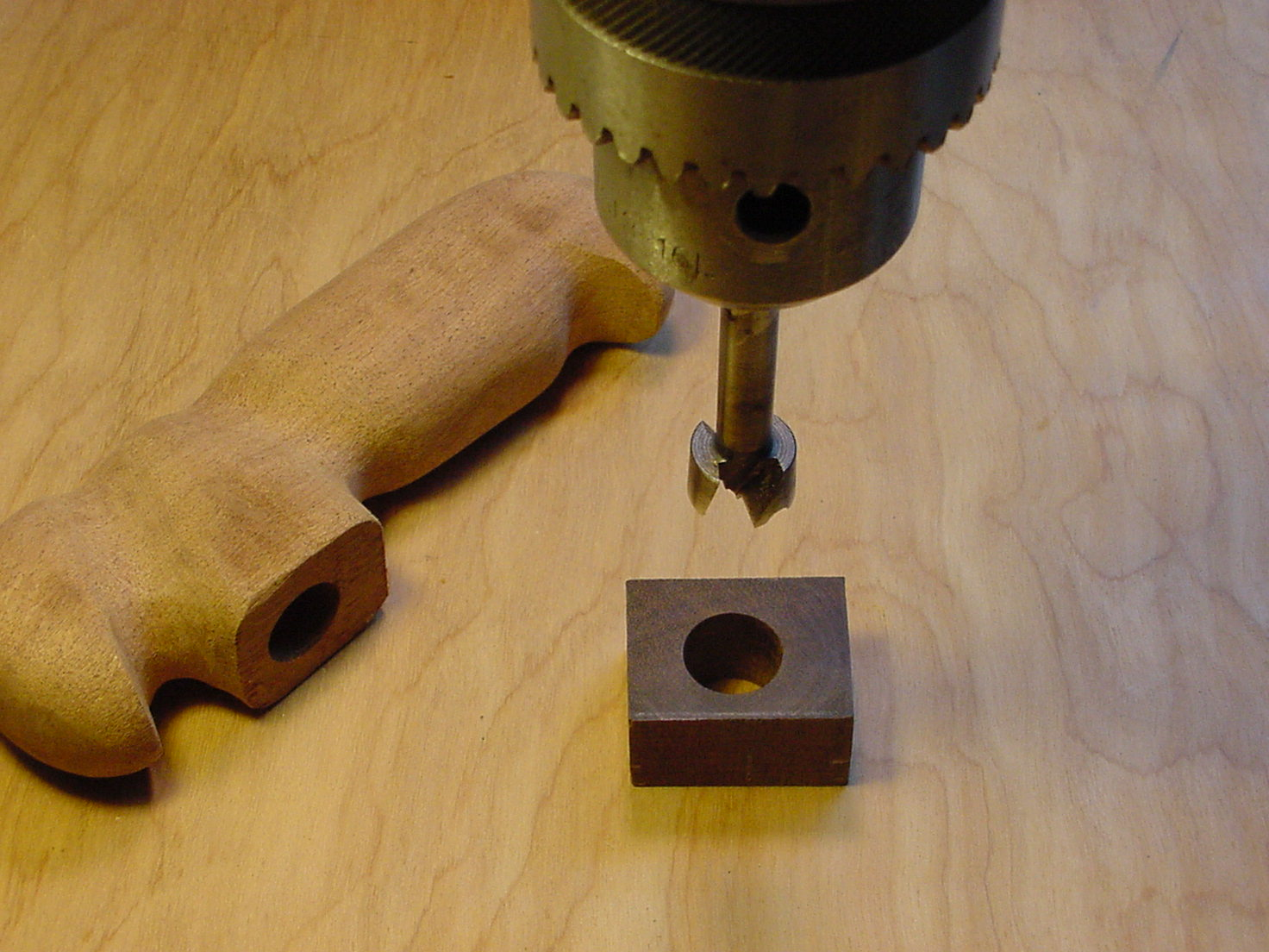 Picture of Adding a Collar to the Handle & Shaft (optional)