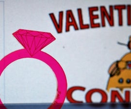 Valentines Rings - Laser Cut for Free