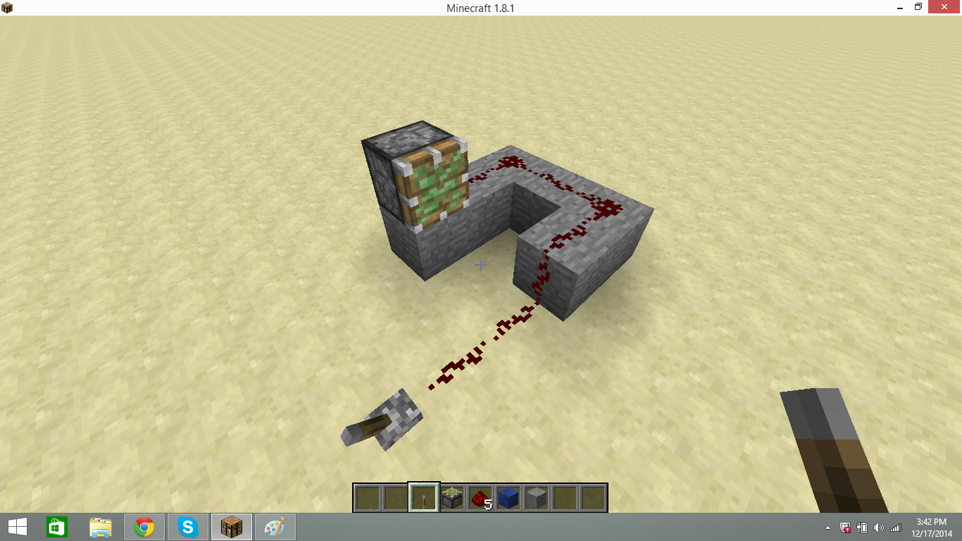 Picture of Adding the Lever and Piston