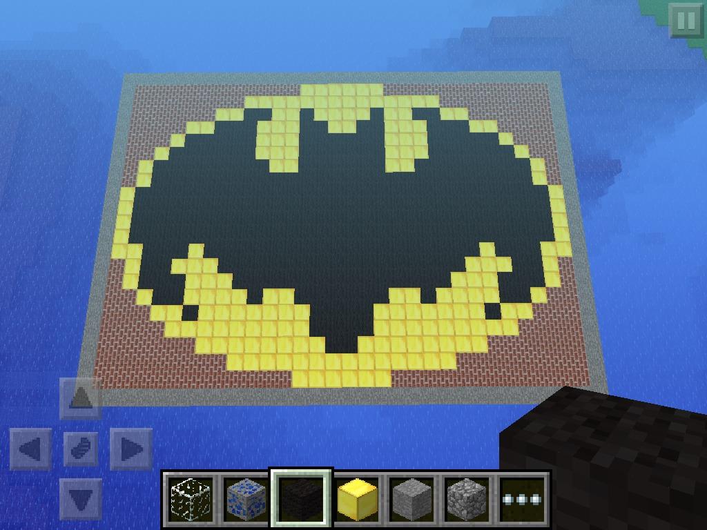 Picture of Minecraft Batman Logo