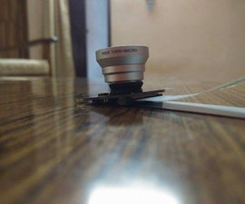 Raspberry Pi camera sugru lens mount