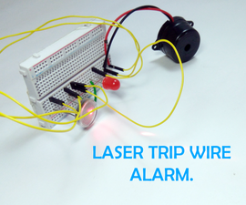 Laser Tripwire Home Alarm System