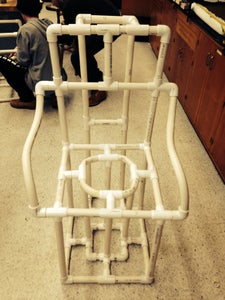 How to Build a Toilet PVC Chair