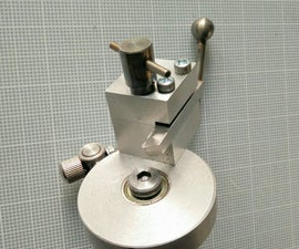 A Different Ball Turning Jig for Taig Lathe