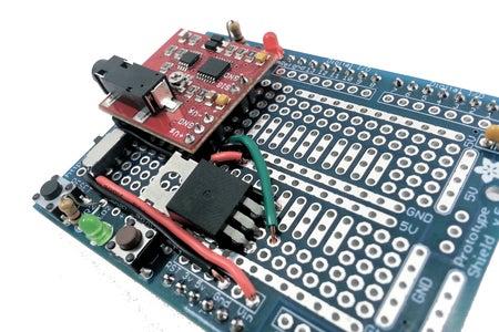 [Muscle Sensor Shield] Connect the Muscle Sensor -Vs Pin to 5V Regulator GND Pin