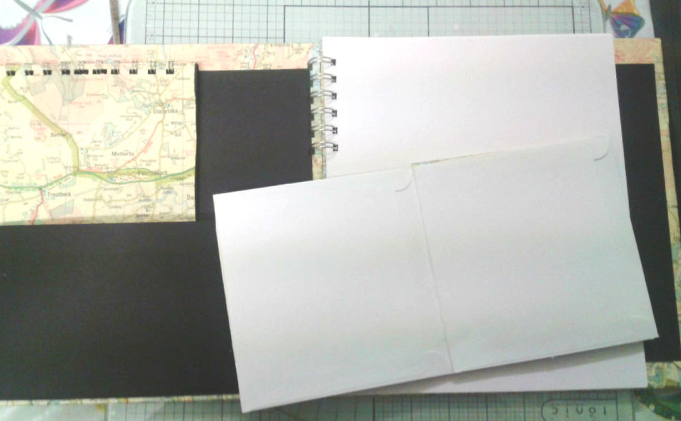 Picture of Upcycled Travel Memory Album / Journal and Photo Album