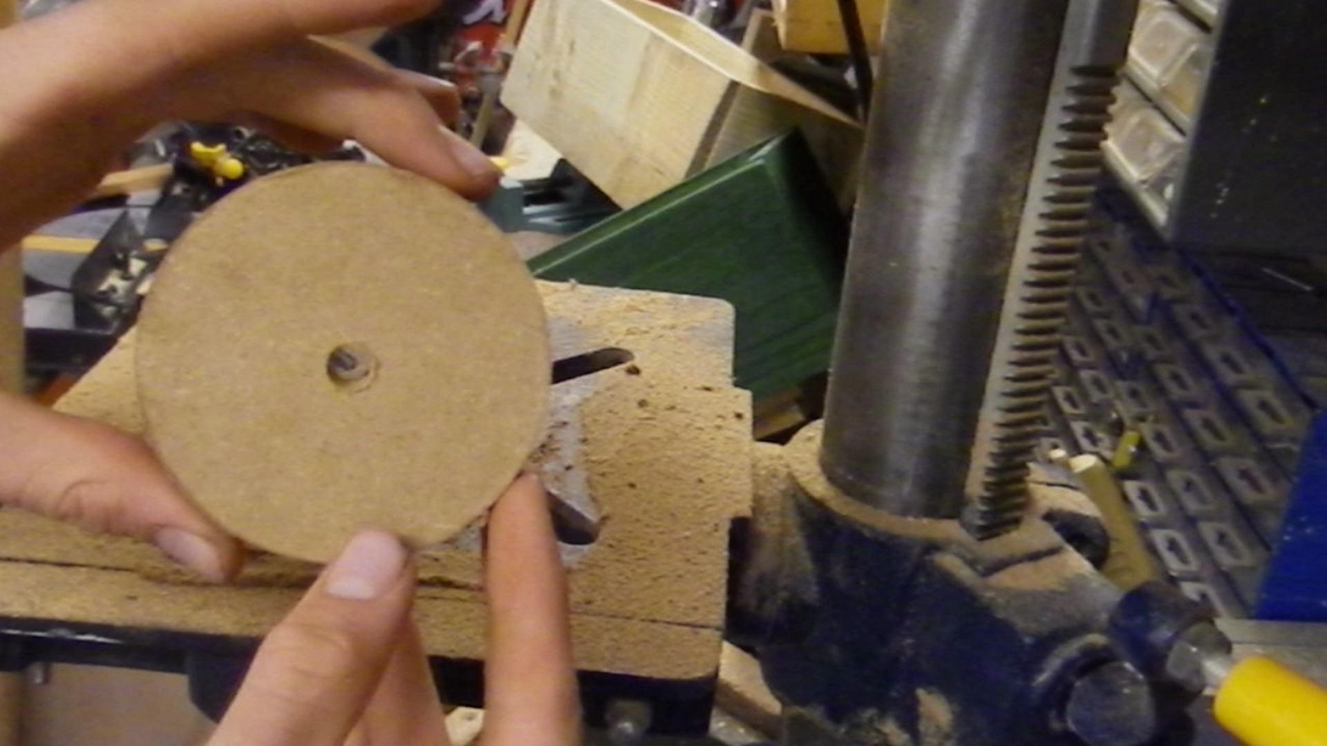 Picture of Cutting a Disc