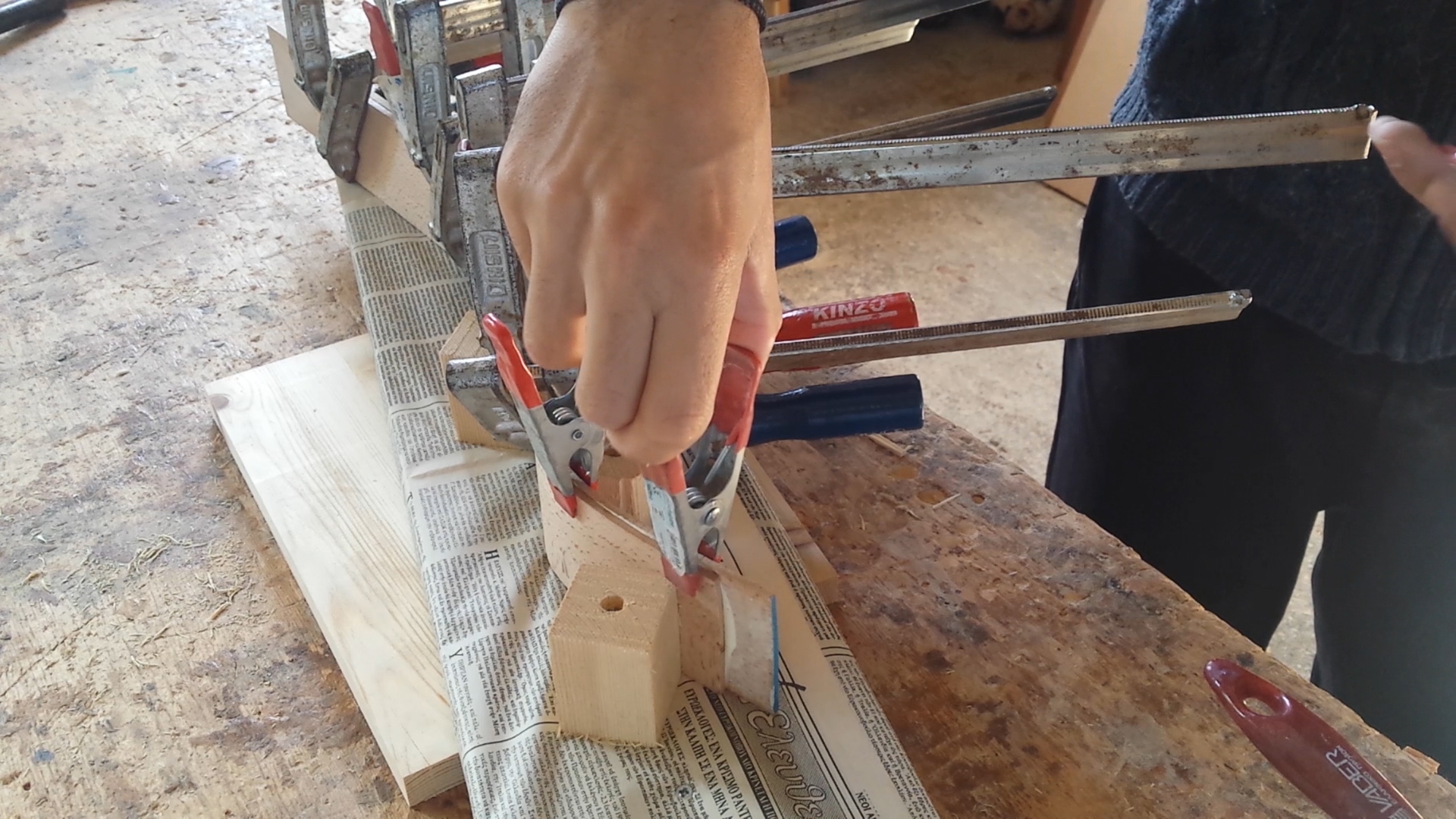 Picture of Gluing the Limbs