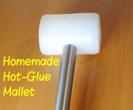 Make Your Own Hot-Glue Mallet! (Rubber Hammer) | DIY Woodworking Tools #4