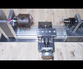 DIY X Y Z Axis Slide CNC for Homemade Wood Metal Mini Mill Lathe