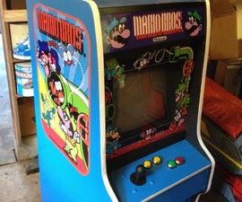 Half Size Nintendo Arcade