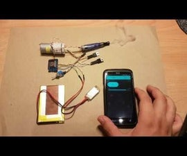 Smokin' - a Cheap DIY WiFi Enabled, Remote Controlled, Battery Powered IoT Smoke Machine