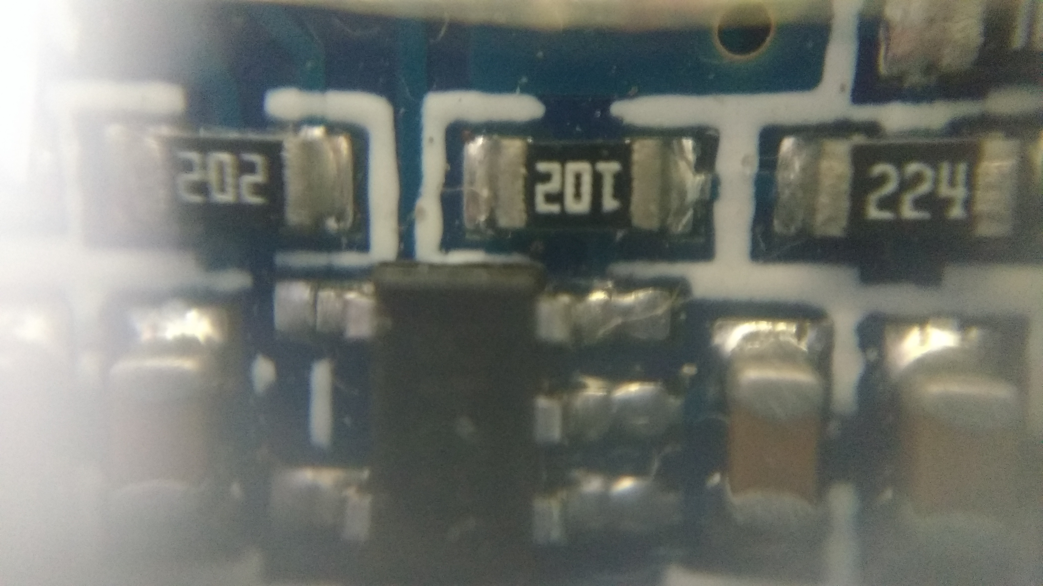 Picture of Clicks of Few Electrical Components
