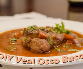 Delicious Osso Buco Meal