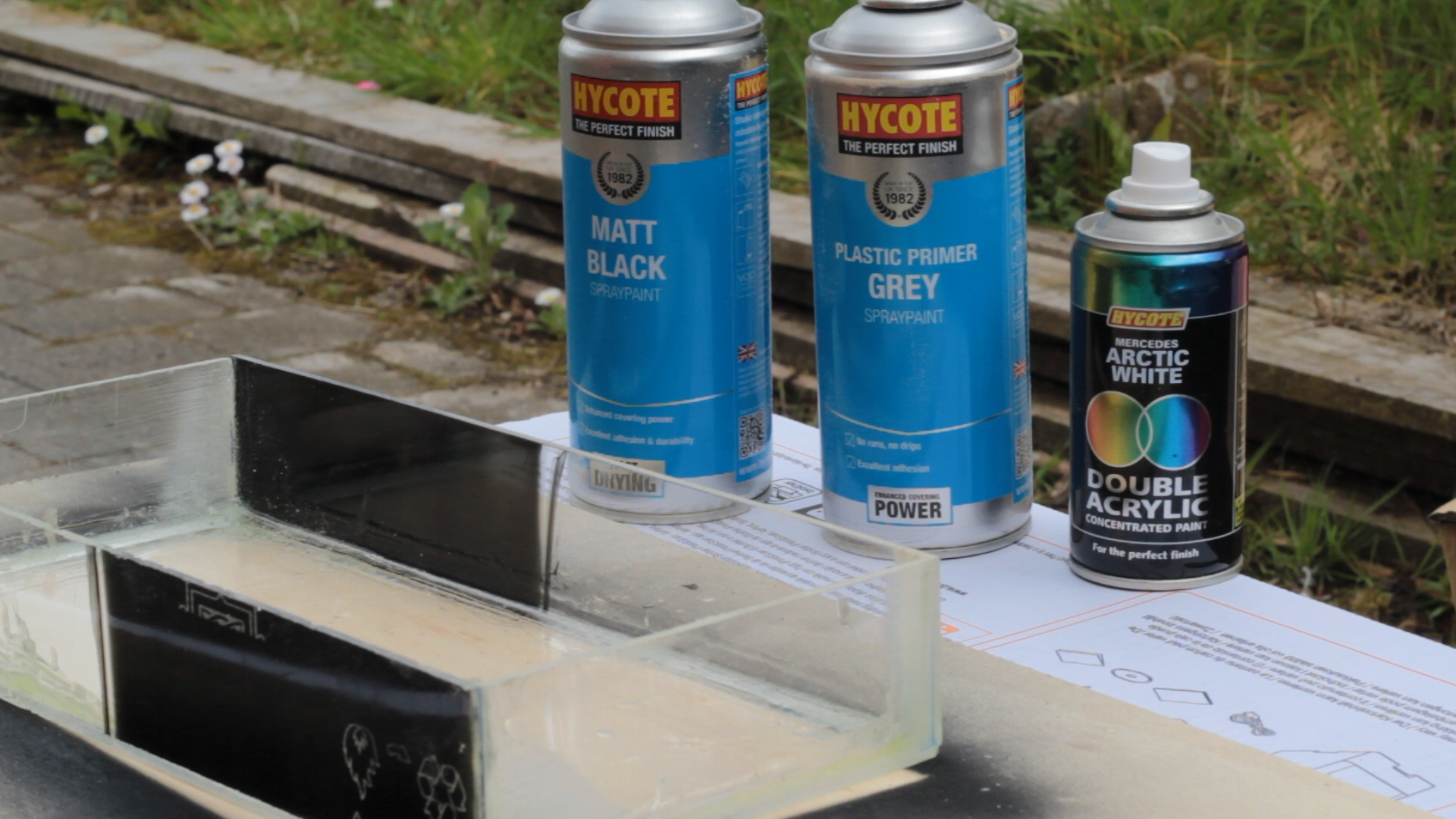 Picture of Painting the Back Box...