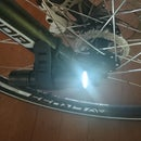 Safe cycling in  darkness