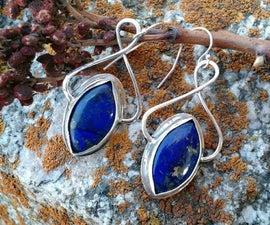 """Silver """"Infinity"""" Earrings"""
