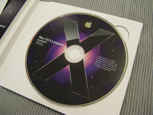 Picture of How to Install Mac OS X Leopard From a Damaged DVD Using an IPod