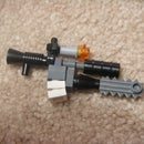Lego Rifle With Chainsaw
