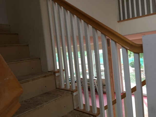Picture of Adding the New Spindles or Balusters