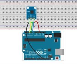 ADXL345 Using Arduino Uno R3