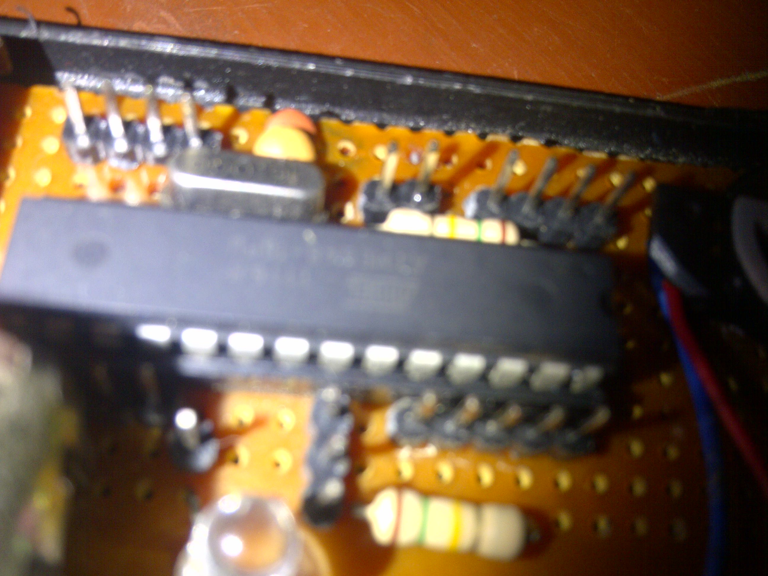Picture of  Building an Arduino Standalone With Atmega8