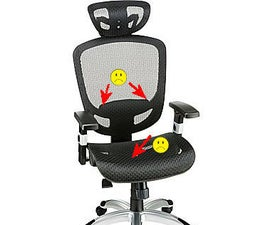 Hyken Mesh Chair Hacks