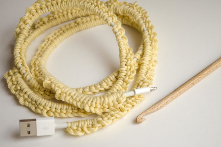 Picture of What to Do With Cotton Scraps: Cover Your Cords