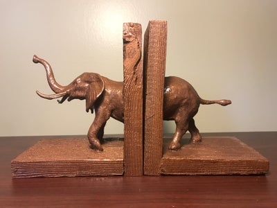 WILD BOOKENDS