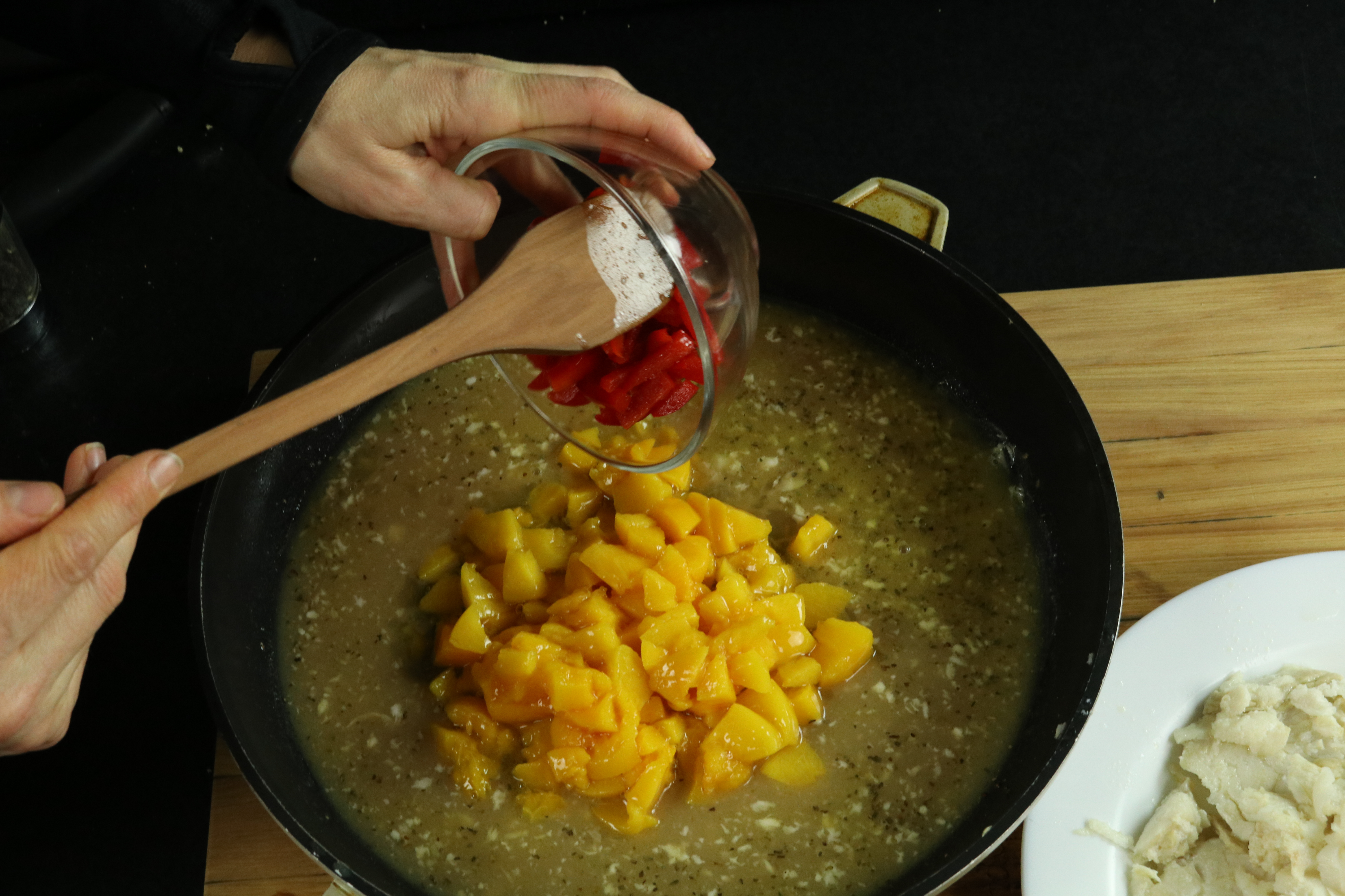Picture of Peaches and Peppers