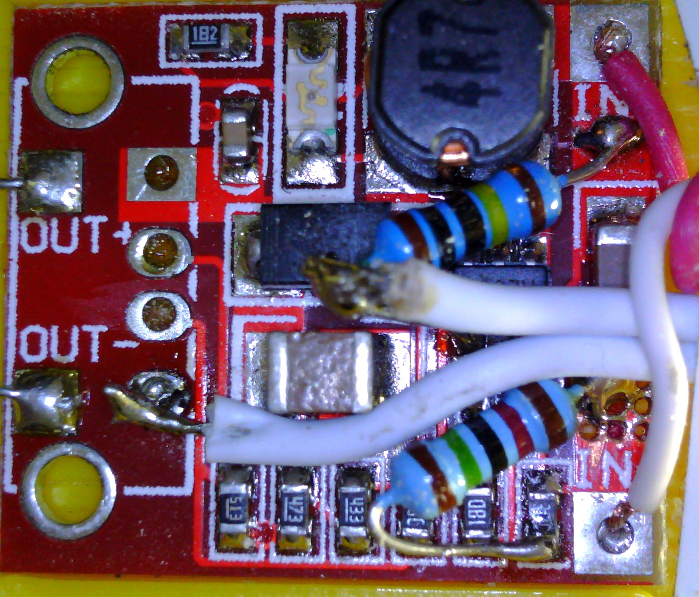 Picture of Modifying the Boost Converter