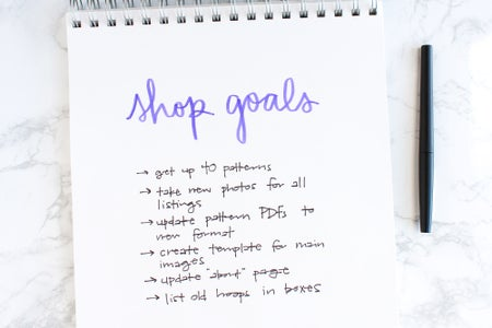 Setting Goals or Making a Business Plan