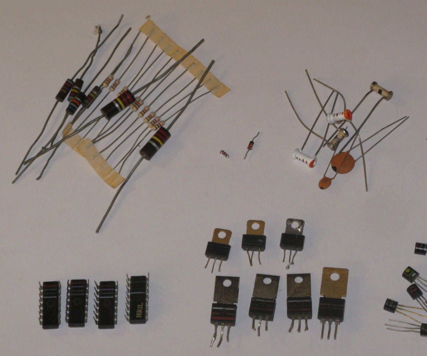 From Resistors To Ics Color Codes 12 Steps With Pictures Schottky Diodes Rectifiers Mounted On A Printed Circuit Boards For