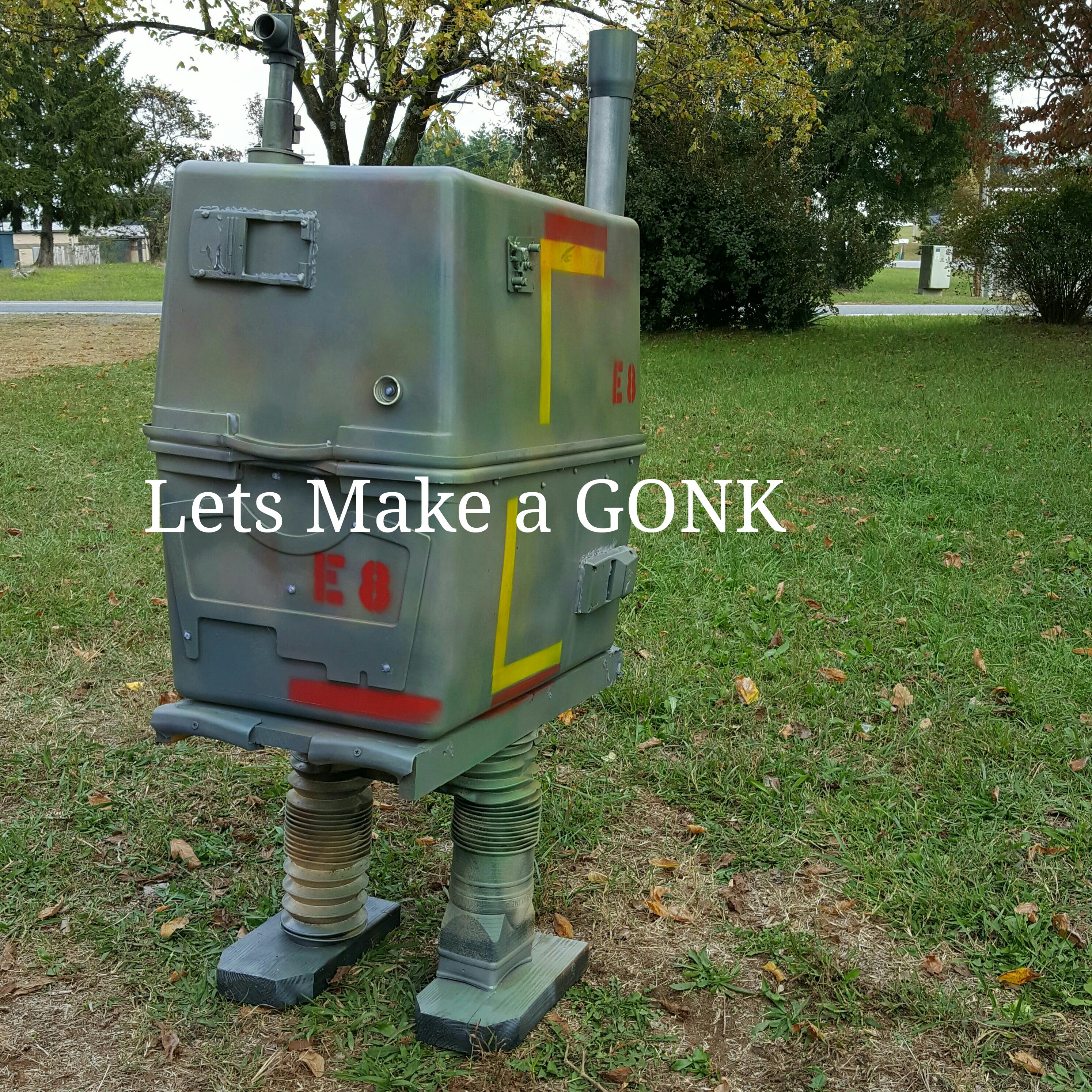 Picture of GONK Droid From Junk