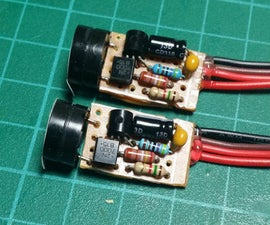 Simple Compact 5v Voltage Regulator with Low Battery Alarm