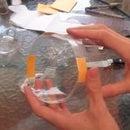 Gyroscopic Soda Bottle Glider Toy