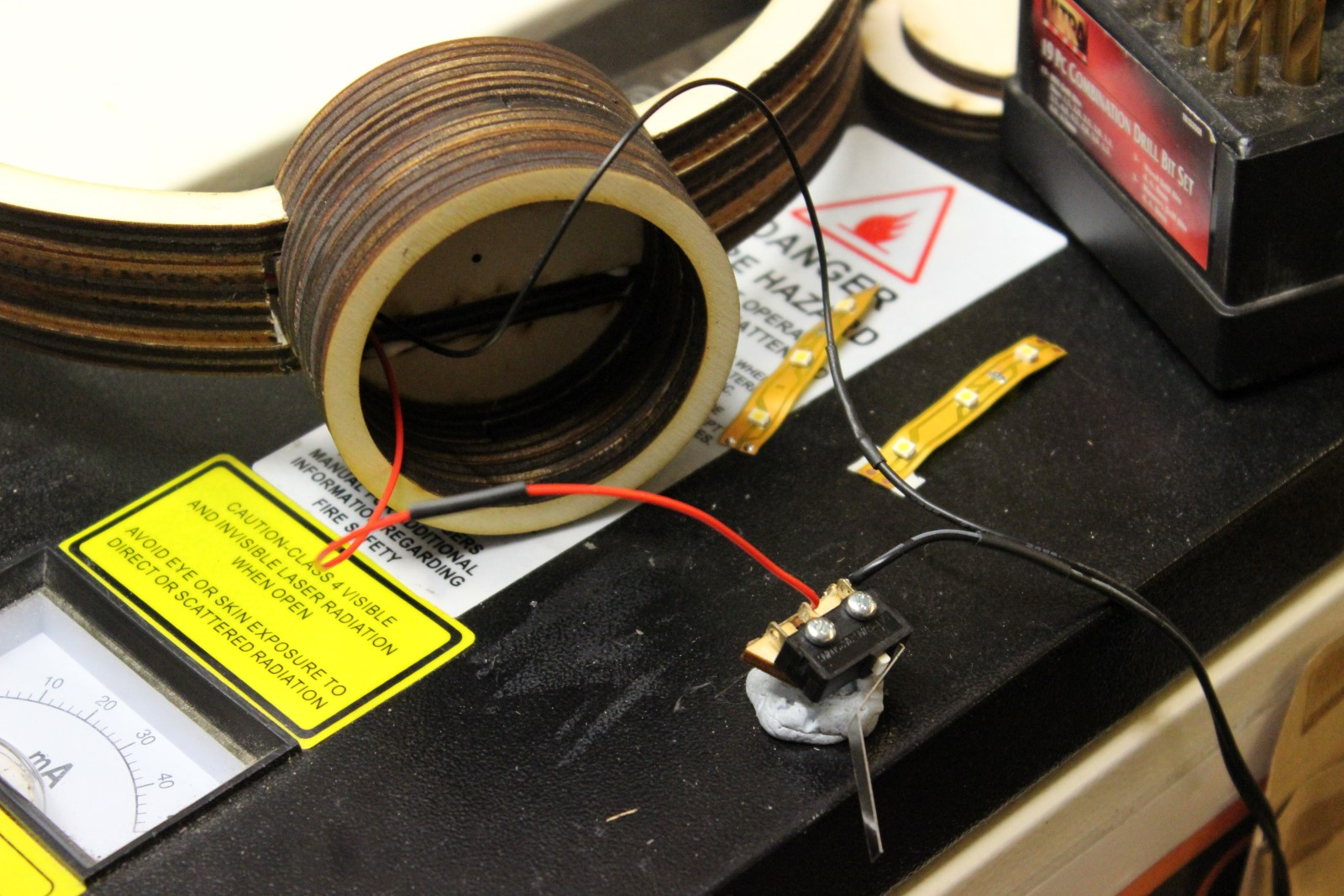 Picture of Wiring the LED's